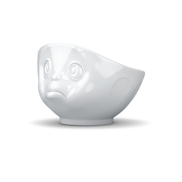Schale schmollend weiß
