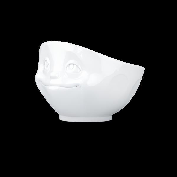 Schale verknallt weiß
