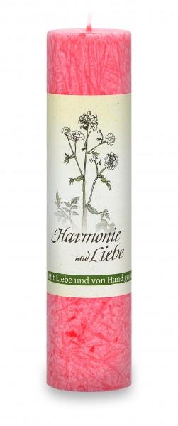 Allgäuer Heilkräuterkerze Harmonie und Liebe